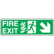 Safe Safety Sign - Fire Door Right 094